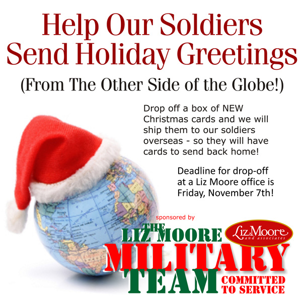 Help Us Collect Christmas Cards for our Troops