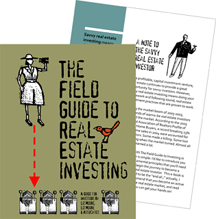 Free e-book for Investors: The Field Guide to Real Estate Investing