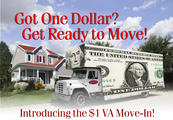 Can VA Buyers Really Buy a Home for Just One Dollar?