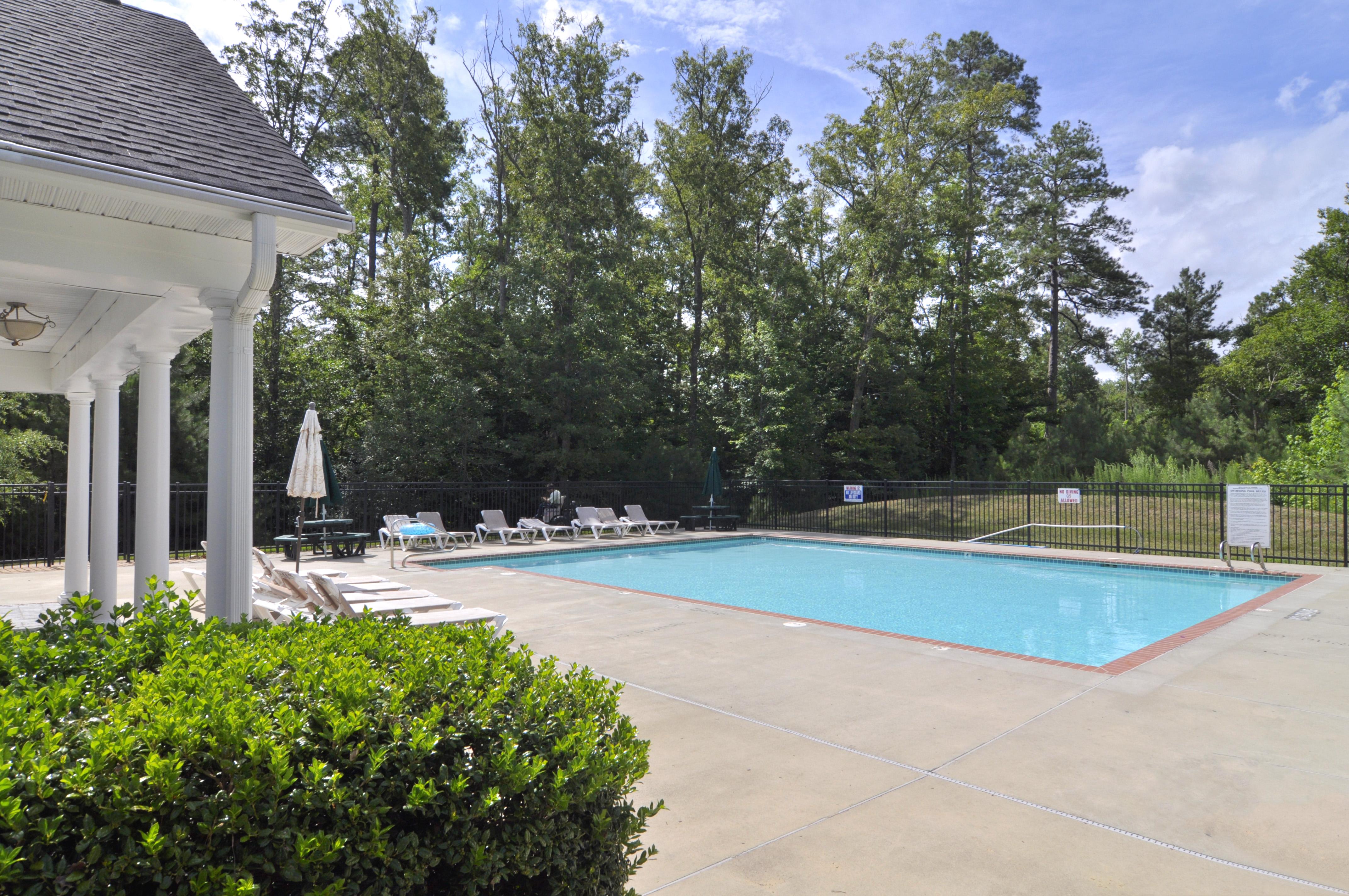 Monticello Woods community pool
