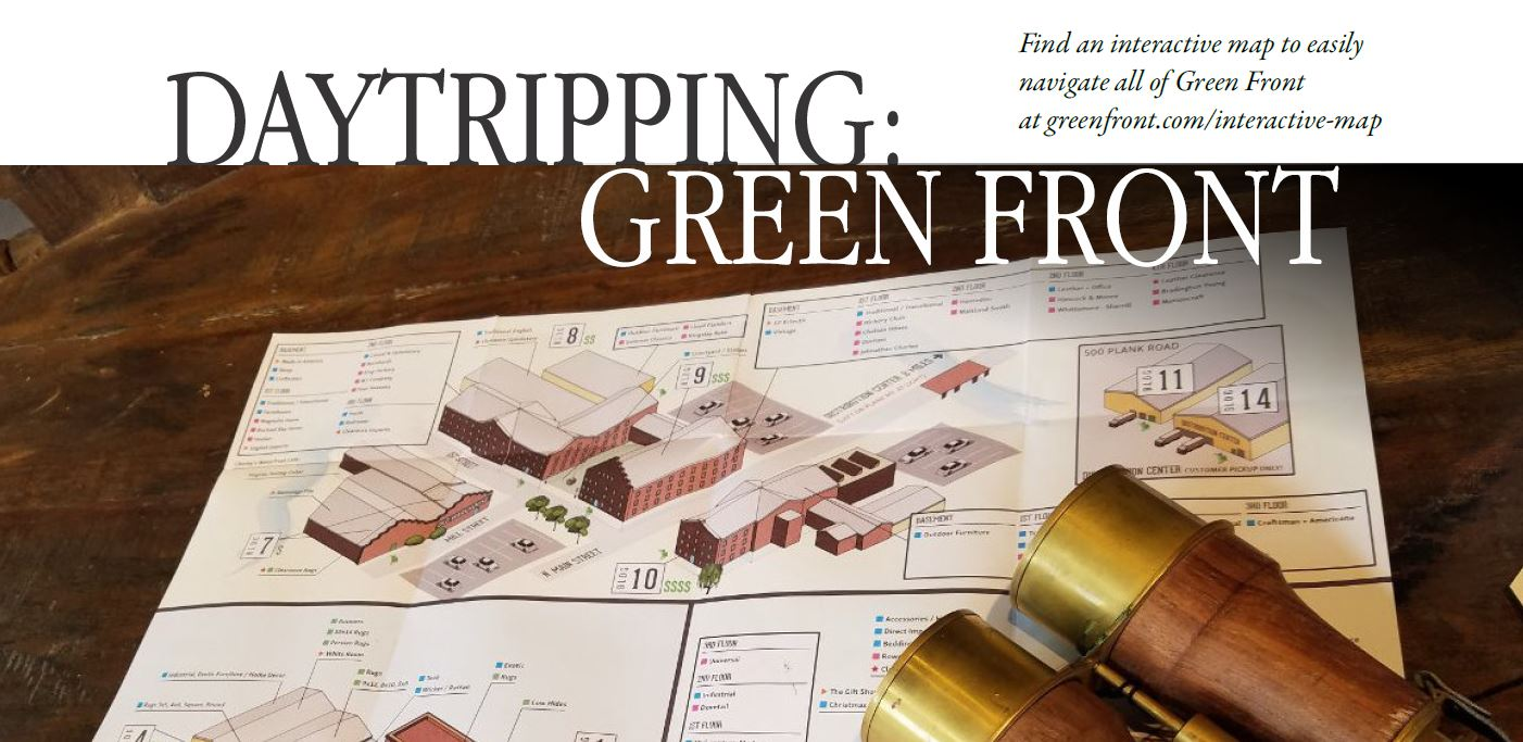 Green Front Comprises 15 Buildings Of Furniture, Including Four Renovate  1840s Tobacco Warehouses, And Six Main Street Storefronts, Stocked To The  Brim With ...