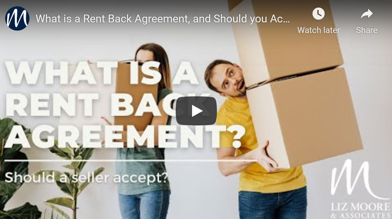 What is a Rent Back Agreement, and Should You Accept as a Seller?