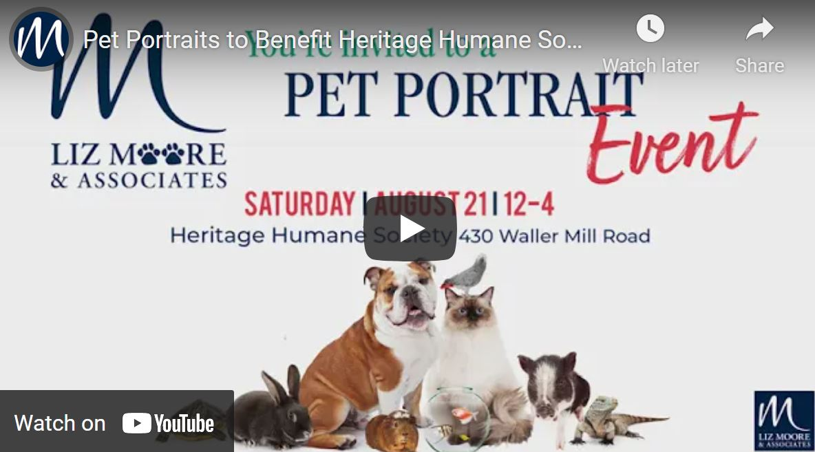 Fundraiser to Benefit Heritage Humane Expansion Project