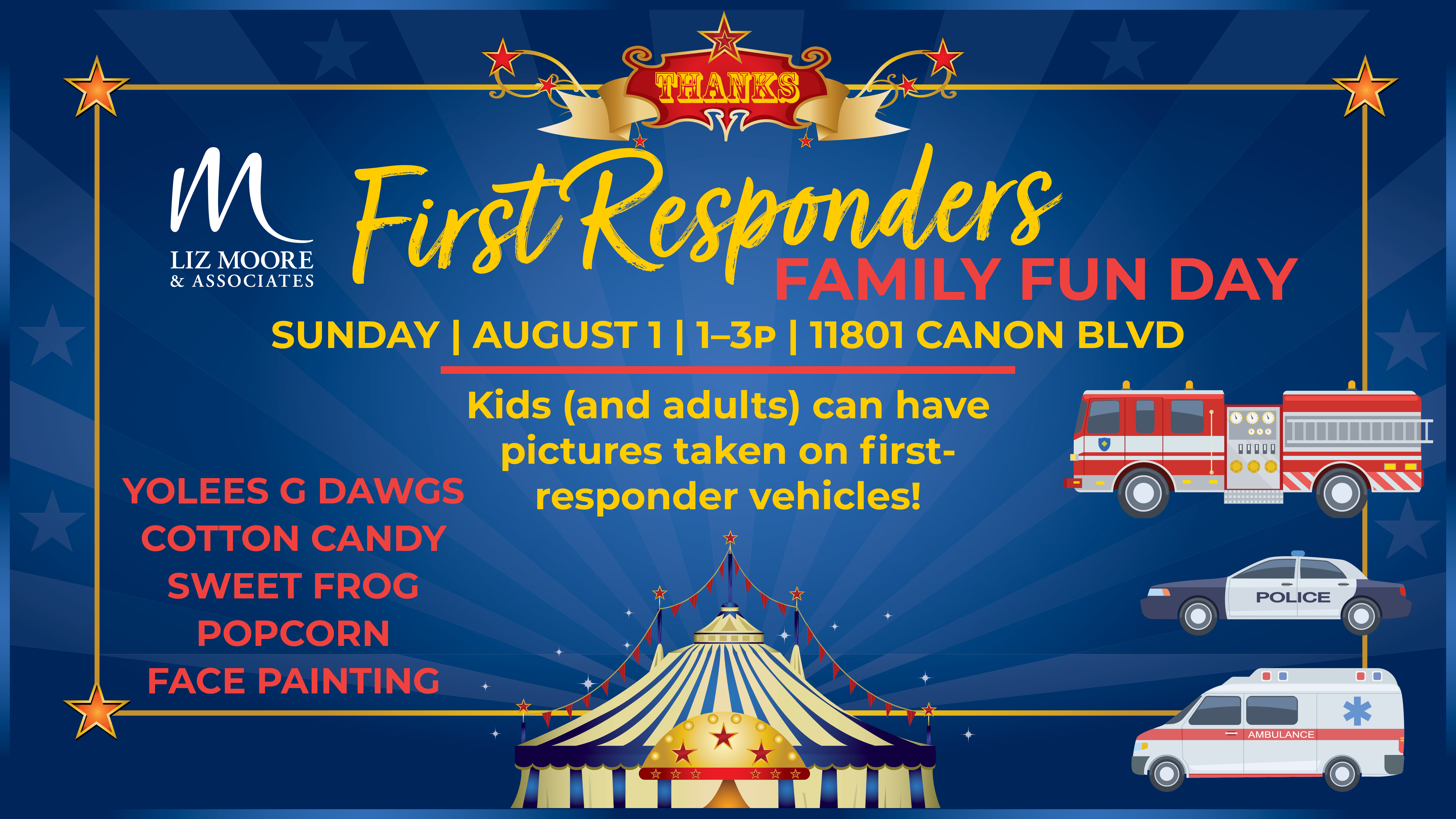 First Responders Family Fun Day - August 1, 2021