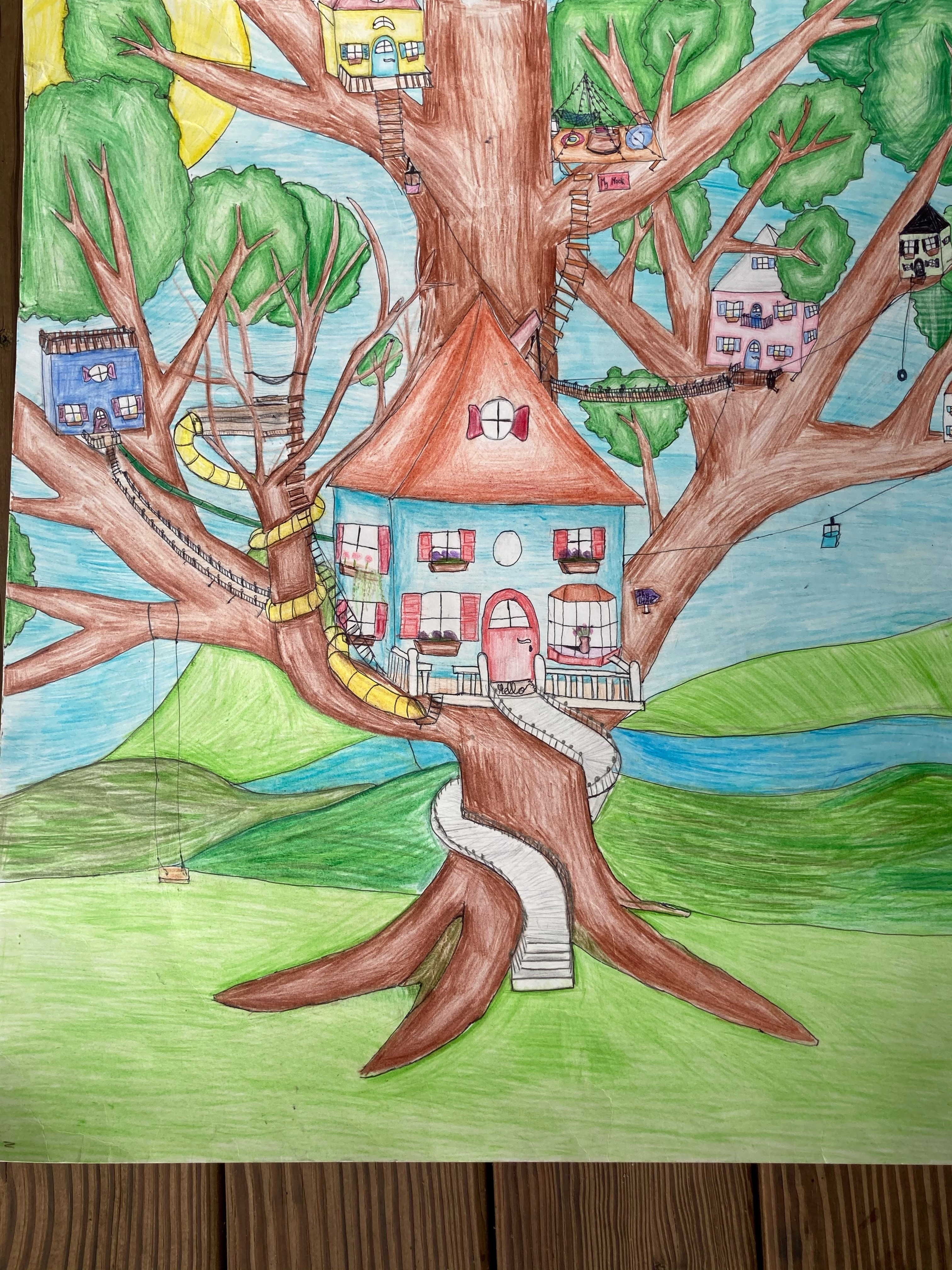 Congratulations to the Winners of our Dream House Coloring Contest!