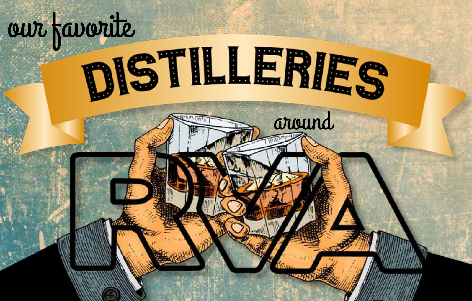 Our Favorite Distilleries Around Richmond